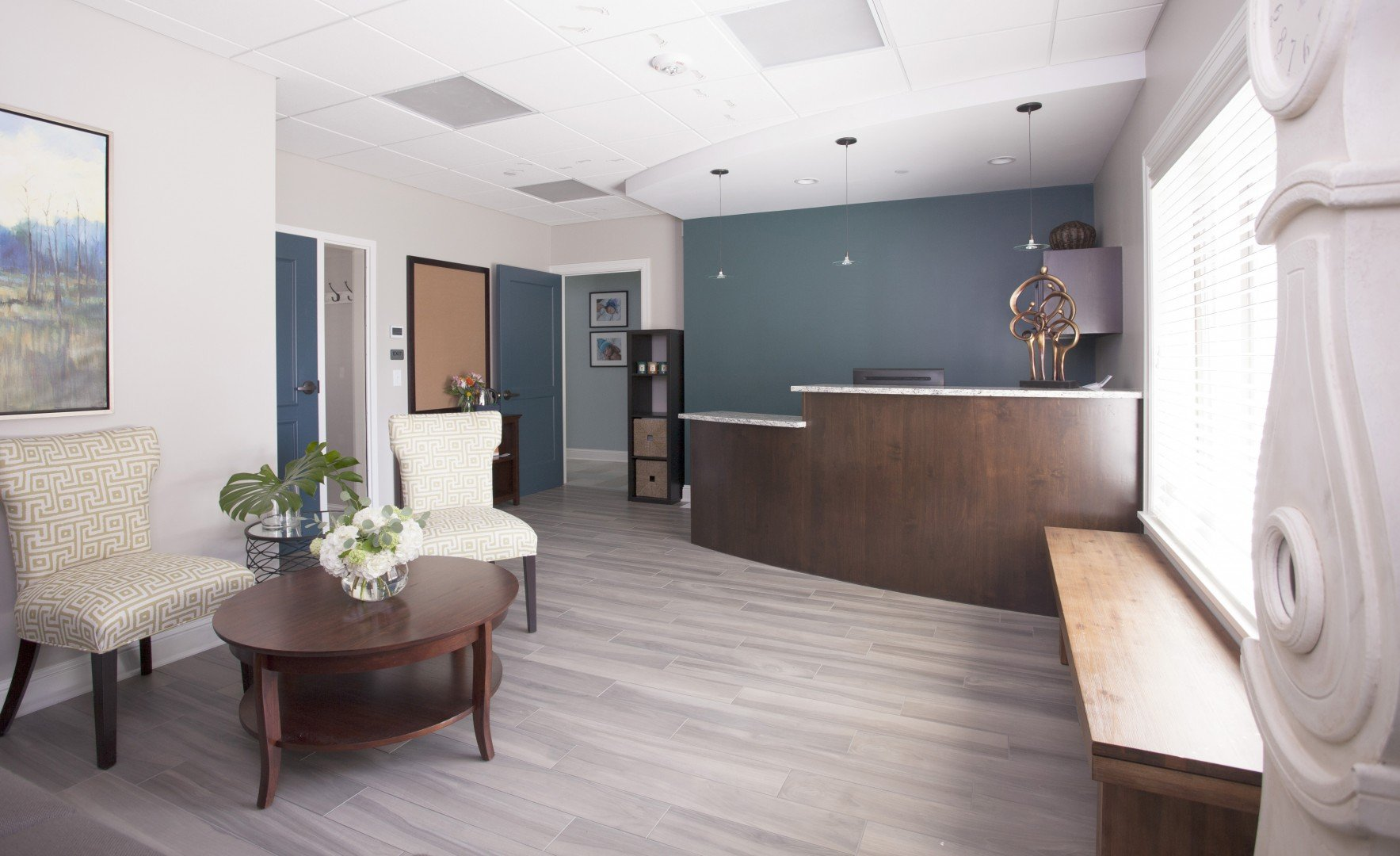 St. Paul Reception Area